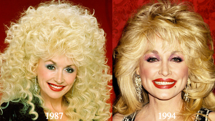 Dolly parton plastic surgery before and after photos photo credit left everett digital right jim smeal wireimage publicscrutiny Choice Image