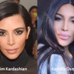 Kim Kardashian Plastic Surgery Look Alike Kamilla Osman