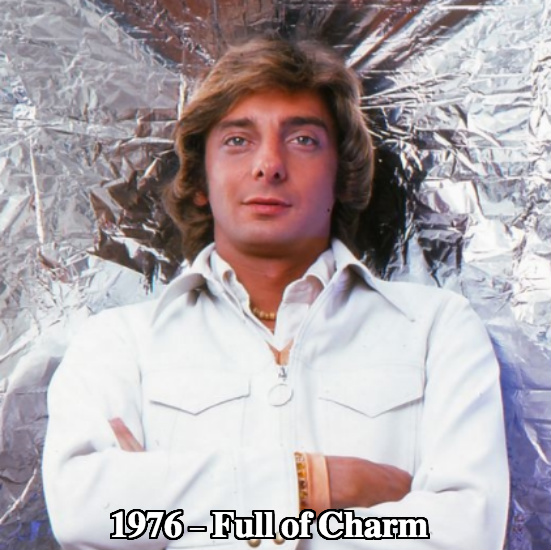 Barry Manilow before plastic surgery 1976