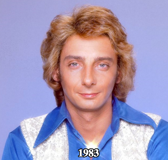 Barry Manilow before plastic surgery 1983