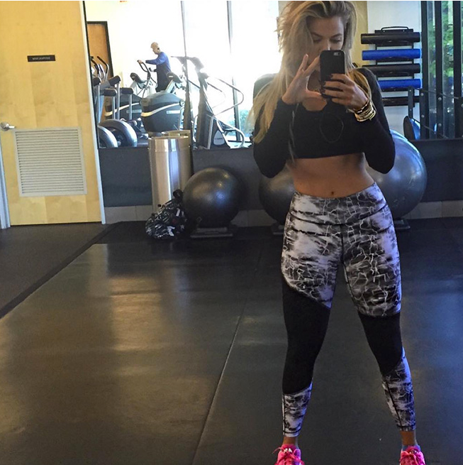 khloe kardashian has no liposuction before