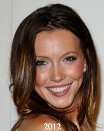 Katie Cassidy plastic surgery 2012