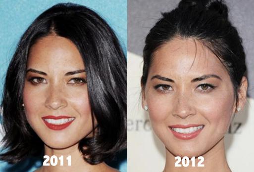 Olivia Munn Plastic Surgery 2011 2012