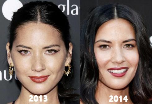 Olivia Munn Plastic Surgery 2013 2014