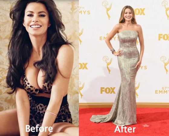 Sofia Vergara Looks beautiful all along