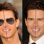 Tom Cruise Middle Tooth and Front Tooth When Smiling