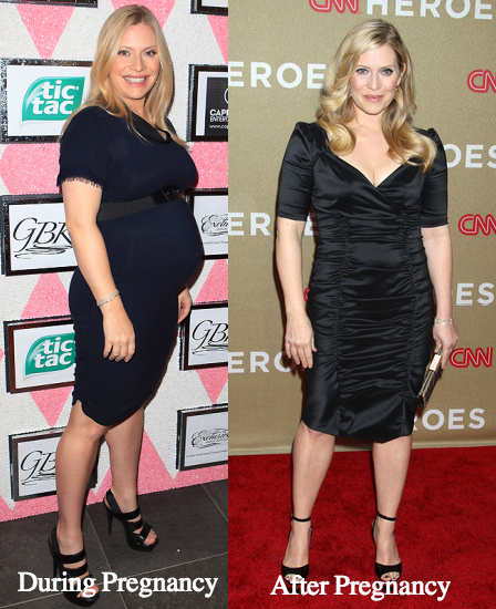 Emily Procter before and after pregnancy
