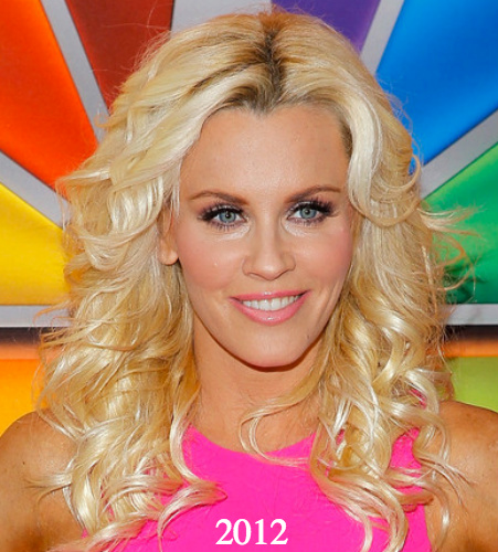 jenny mccarthy blond plastic surgery 2012