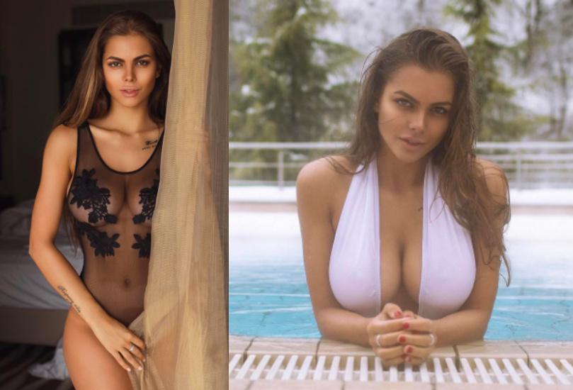 Viki Odintcova boob job photos