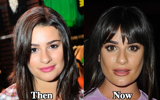 Lea Michele round nose