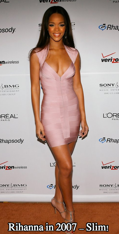 Rihanna boob job 2007
