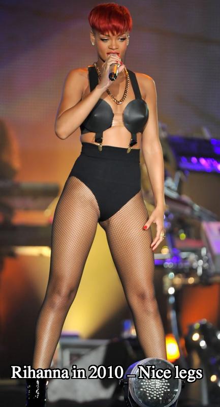 Rihanna boob job 2010
